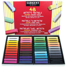 48Ct Assorted Color Artists Chalk