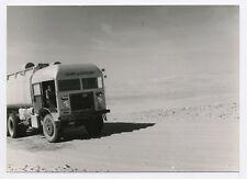 TRA011 Photo Originale Vintage Camion Esso Ligne du Hoggar Sahara pétrole Car