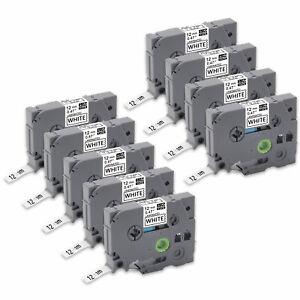 9x Schriftband kompatibel TZe-231 12mm  für Brother P-touch H100 H105 1000 D210