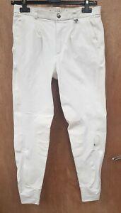 NEW BUT WASHED CALDENE LADIES WOVEN STRECH  BREECHES SIZE 14 / 30L LONG LEG