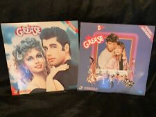 GREASE+GREASE 2 Combo-LASERDISCS-EXTENDED PLAY-VG CONDITION