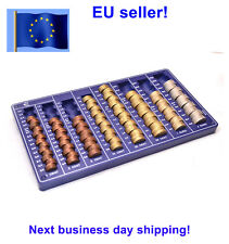 Euro Coin Tray counter holder Organizer EUR NEW coins handling euros EU money