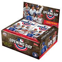 2018 Topps Opening Day Baseball 1-200 & Insert Blue Foil Pick lot Card Build Set