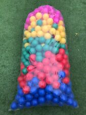 1000 BRAND NEW SOFT PLAY BALLS -BALL PIT, POOL ,  COMMERCIAL GRADE - (8 CM)