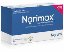 Narine, Probiotic, Narimax Lactobacillus Acidophilus, 30 Capsules 200mg FREE P&P