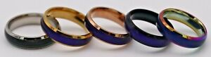 Elegant Color Changing Mood Rings- Many Colors and Sizes