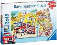 Feuerwehreinsatz Kinder Puzzle Kinderspiel Für Lernen ab 5 Jahren