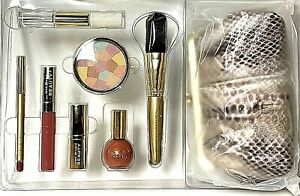 Joan Rivers Absolutely Magic Luxe Pink Beauty Makeup Kit Set With Bag