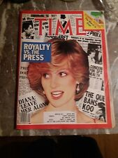 TIME Magazine PRINCESS DIANA Royalty vs. the Press FEBRUARY 1983 COMPLETE Issue