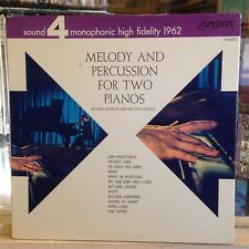 [PHASE 4~#54007 ]~EXC LP~RONNIE ALDRICH~His TWO PIANOS~Melody And Percussion For