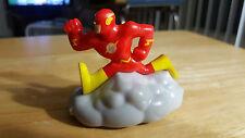 2016 Burger King Kids Meal Toy The Flash DC Super Friends Lightning Fast - Loose