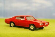ERTL - 1968 PONTIAC GTO #15 - RED - CLASSIC MODEL CAR / MINT