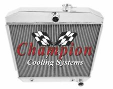 """2 Row 1"""" Cold Champion All Aluminum Radiator for 1955 1956 1957 Chevy Car"""