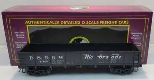 MTH 20-98092 D&RGW 55 Ton Drop Bottom Gondola EX/Box