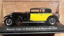 bugatti type 41 royale royale coach weymann 1929 ixo