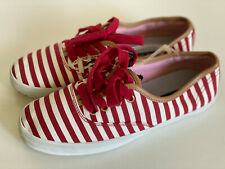 NEW! TOMMY HILFIGER TAHLOR RED WHITE OXFORD SHOES SNEAKERS 6 36 SALE