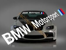 "36"" BMW Motorsport Sun Strip Visor Windshield Decal Sticker 1 2 3 4 5 6 X1 X5 X6"