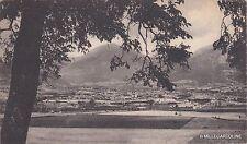 # NORCIA: PANORAMA OVEST COL M. PATINO E LA CATENA APPENNINICA 1929