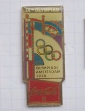 COCA-COLA /  OLYMPISCHE SOMMER SPIELE / AMSTERDAM 1928  .... Sport Pin (151h)