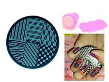 BP 67 Arrow Geo Pattern Manicure Nail Art Stamping Template Image Plate Kit
