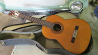 """Vintage 1970's """"C.G.CONN"""" 6 String Acoustic guitar with case made in Japan"""