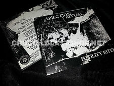 ABJECTION RITUAL Futility Rites CD death industrial brighter death now mz.412