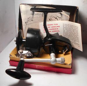 Vintage Garcia MITCHELL 306 w. BOX & MANUAL Spinning Spin Fishing Reel Saltwater