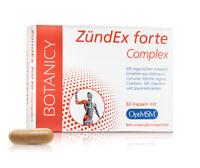 BOTANICY Zündex Forte Complex mit OPTIMSM, 60 Kapseln hochdosiert