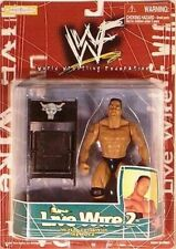 WWF Live Wire 2 WWE The Rock Action Figure Jakks Pacific 1998 Peoples Champ