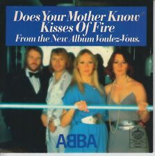 "Abba 7"" coloured vinyl single Does Your Mother Know 2019"