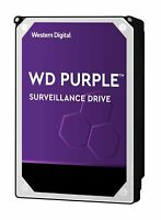 "WD Purple 10TB Surveillance Intellipower 3.5"" SATA3 Internal Hard Disk Drive"