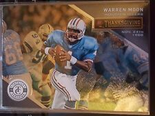 2013 Panini Totally Certified Thanksgiving Day #79 Warren Moon NM-Mint
