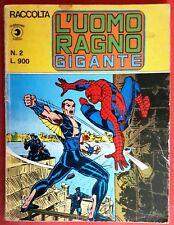 RACCOLTA L'UOMO RAGNO GIGANTE N° 2 7/1979 ED. CORNO FUMETTO COMICS SPIDER - MAN