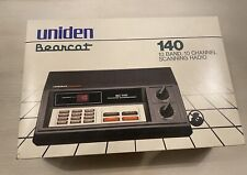 Original Box UNIDEN Bearcat BC140 Desktop Base Scanner Radio Police Fire 1985