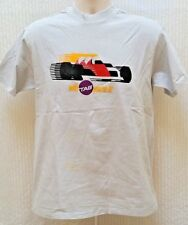 Vintage WITH TAG YOU'RE IT RACING T SHIRT - Grey - Size Small