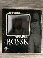 More details for gentle giant, star wars bust, bossk, 318/5000.