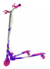 Ozbozz Purple Pink Spark Scissor Scooter for Children 3 Wheel