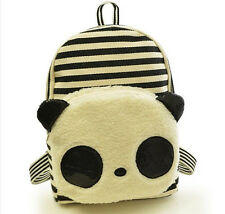 Cute Girl Cartoon Panda Backpack School Bag BookBag Travel Satchel Bag