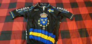 CM Sweden Cycling Jersey Size Small