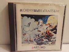 Dire Straits - Alchemy (Dire Straits Live) Pt. 2 Only (CD, 1984, Phonogram)