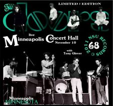 THE DOORS LIVE IN MINNEAPOLIS, MINNESOTA 1968  NOVEMBER 10th LIMITED # CD