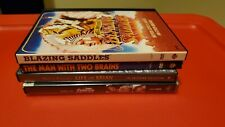 Lot of 4 classic comedy Dvds: Blazing Saddles, Life of Brian, Spinal Tap, more