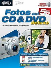 MAGIX Fotos auf CD & DVD deluxe Die perfekte Fotoshow im Fernseher! Für Windows