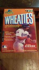 Empty Wheaties Box 1988 World Series Hero Kirk Gibson EX