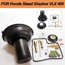 For Steed Shadow VLX 400 Carburetor Diaphragm Plunger w/Needle Repair Kit