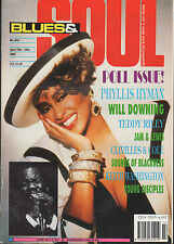 Phyllis Hyman on Blues & Soul Magazine Cover 1992    Teddy Riley    Jam & Lewis
