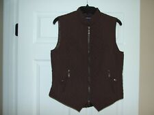 EOUS Windsor Equestrian Riding Vest  Size Medium for Woman Dark Brown