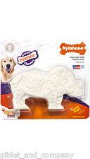 NYLABONE DENTAL CHEW RHINO - Durable Tough Long Lasting Giant Size Dog Chew Toy