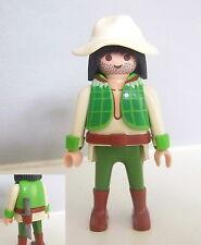 PLAYMOBIL (P113) JUNGLE - L'Explorateur Aventurier Chasseur d'Alligators 3016