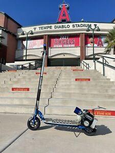 Original Blue California Sport Go ped Scooter GoPed!!